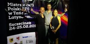 Tancerze kategorii Senior na Mistrzostwach Polski w Tańcach Latynoamerykańskich FTS 2018