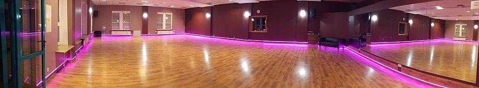 Sala 1 w Szkole Tańca Dance Center Poznań