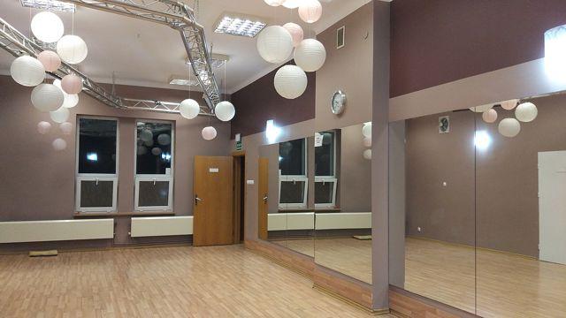 Sala 3 w Dance Center Poznań