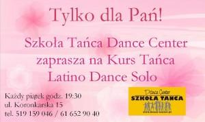 Tylko dla Pań - Latino Dance Solo